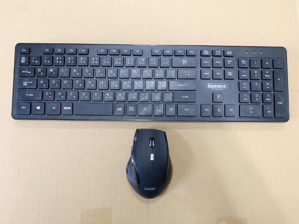 ワジュンPCのキーボードとマウス